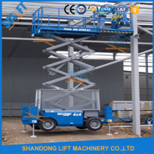 12m Self-Propelled Scissor Lift pictures & photos