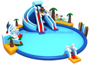 New Design Giant Inflatable Water Park Prices / Lake Floating Water Games / Commercial Aqua Park pictures & photos