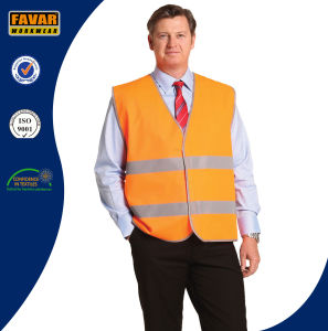 100% Polyester Hi Vis Reflective Tape Safety Vest