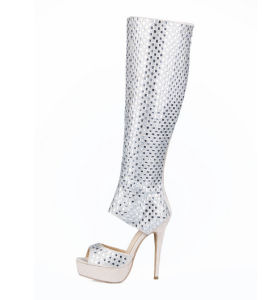 New Collection High Heel Ladies Shoes with Diamond (HS17-074) pictures & photos