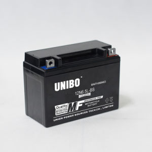 High Quality Maintenance Free Mf 12n6.5L 12V6.5ah Motorcycle Battery pictures & photos