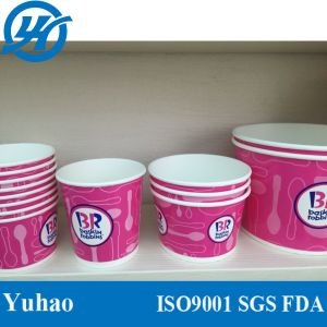 6oz Ice Cream Paper Cup/ Custom Printing Ice Cream Bowl pictures & photos