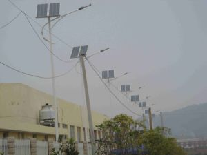 High Brightness 35W Solar LED Street Lamp with Solar Panel pictures & photos
