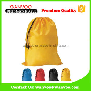210d Polyester Drawstring Back Pack Tote for Camping pictures & photos