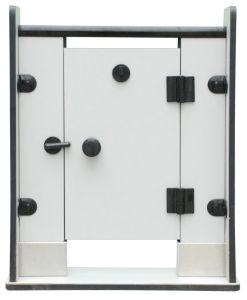 Fumeihua Compact Laminate Cubicle Toilet Partition pictures & photos