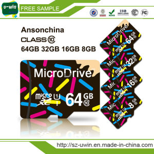 OEM 16GB Class 10 Micro SD Card 16GB pictures & photos
