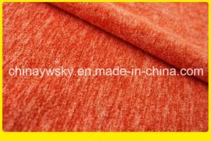 Polyester Cheap Polar Fleece Fabric Cation Heather pictures & photos
