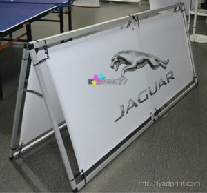 High Quality Portable a-Frame Display PVC Vinyl Banner pictures & photos