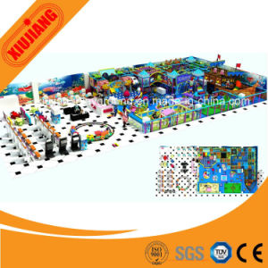 Galvanized Pipe Plastic Material Indoor Soft Playground Equipment for Sale pictures & photos
