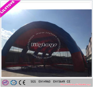 Customized Tarpaulin Giant Inflatable Bunker Tent for Sport Game pictures & photos