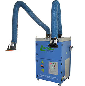 High Efficiency Portable Double Cartridge Filter Welding Fume Extractor pictures & photos