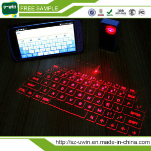 Hot Selling Magic Cube Wireless Virtual Laser Keyboard pictures & photos