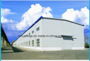 Two Story Steel Structure Building Fabricated Warehouse pictures & photos