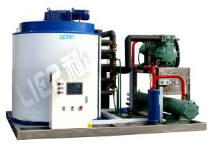 Water Cooled Chemical Industrial Cooling Ice Machine pictures & photos