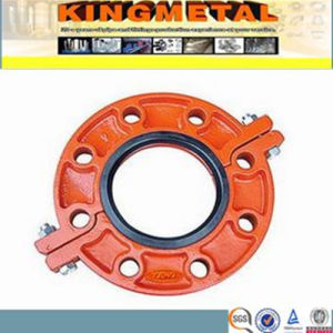 FM/UL Ductile Cast Iron Pn 16 Grooved Flange pictures & photos