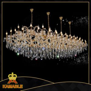 Luxury Decorative Crystal Hotel Chandelier Project Light (MD6104-56) pictures & photos