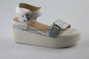 Jordan Meyer Design Leather Women Sandal with Platform pictures & photos