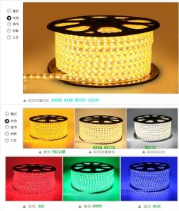 LED Light 230V/110V SMD5050 UL LED Strip Light LED pictures & photos