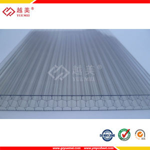 Polycarbonate of Corrugated Sheet for Building Material with 10 Years Warranty and Factory Price pictures & photos