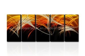 Abstract Design Metal Oil Painting / Metal Wall Arts Decor pictures & photos