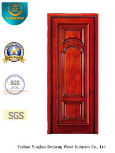 American Style Security Steel Door Without Glass (s-1008) pictures & photos