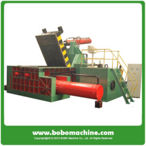 Hydraulic Horizontal Baler for Sale in China pictures & photos