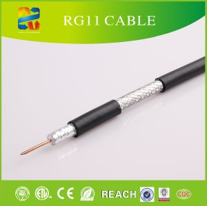 High Quality 75 Ohm Rg59/RG6/Rg11 Coaxial Cable pictures & photos