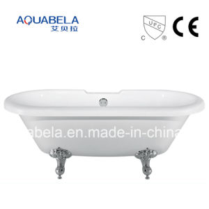 2016 New Style CE Approved Acrylic Chawfoot Bathtubs with Legs pictures & photos
