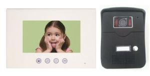 7 Inch Hands Free 4 Wires Color Video Door Phone