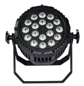 Outdoor Waterproof IP65 18*15W Rgbwauv 6in1 LED PAR pictures & photos