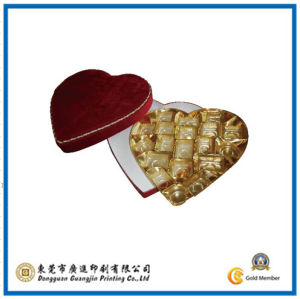 Christmas Chocolate Heart Gift Paper Box (GJ-Box412) pictures & photos