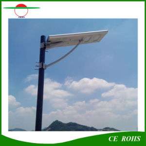 Body Induction Motion Sensor All in One Solar Street Light 30W IP65 Outdoor LED Road Lighting with Ce, RoHS pictures & photos