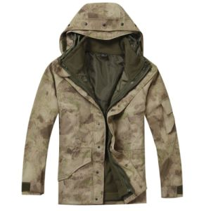 Military Cold Weather Parka with Fleece Jacket Inside pictures & photos