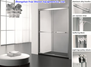 2017 Double Sliding Shower Door / Shower Cabin / Glass Shower Door /  Bathroom