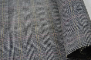 Wool Fabric Tweed Checks for Suit 100wool