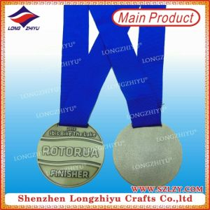 Metal Medal Round Simple Design Antique Medals pictures & photos