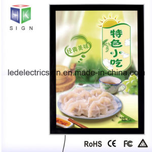 Picture Frame LED Sign with Magnetic Frame LED Light Box pictures & photos