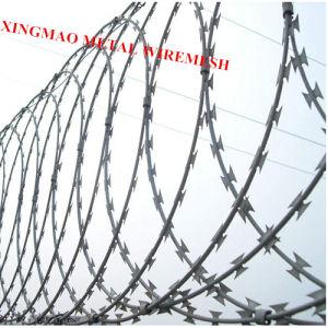 China Concertina Razor Barbed Wire/Bto-22 Razor Blade Wire (XMR01) pictures & photos