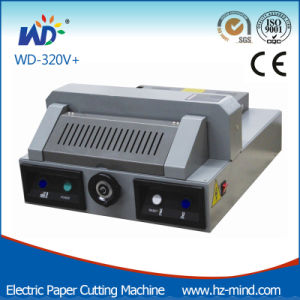 Electric Paper Cutter (WD-320V+) A4 Precise Paper Cutting Machine pictures & photos