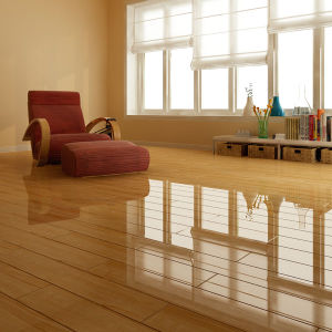 Mirror Surface HDF Laminated Flooring AC4 E0 pictures & photos