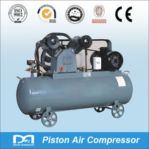 8bar Portable One Stage Electric Reciprocating Piston Air Compressor with Air Receiver pictures & photos