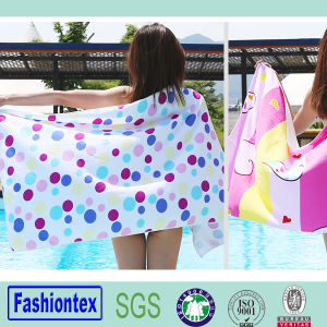 Attractive Fashion Cotton Printed Sexy Beach Towel pictures & photos