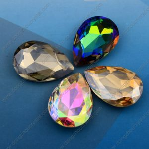 Crystal Teardrop Fancy Stones Beads for Jewelry Beads pictures & photos