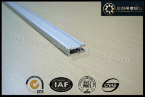 Aluminium Track Rail with Velcro Gl3003 for Window Roman Blind Decoration pictures & photos