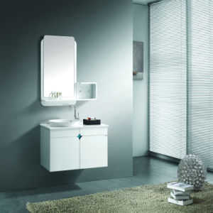 Wall Mounted Bathroom Vanity with Mirror and Shelf
