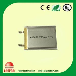 Cylindrical Li-ion Polymer Battery for Electrical Equipment Cell Phone pictures & photos