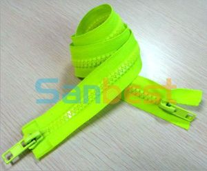 2 Way Open-End Resin Zipper for Luggage pictures & photos