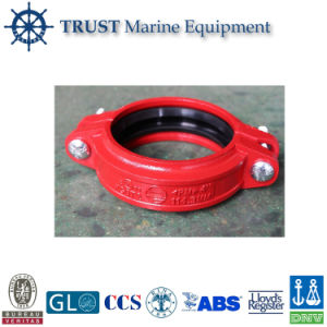 UL Approved Grooved Type High Pressure Rigid Pipe Coupling Clamp pictures & photos