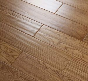 8801# Oak Handscraped Engineered Wood Flooring 15mm