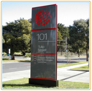 Outdoor Way Finding Directional Sign/Free Standing Sign Board pictures & photos